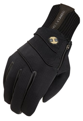 Heritage Gloves Extreme Winter Gloves, Size 8, Black