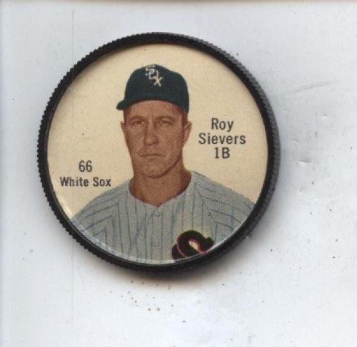 1962 Salada Baseball Coin #66 Roy Sievers White Sox Nm
