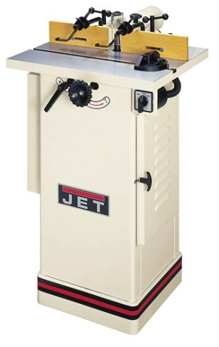 JET 708320 JWS-22CS 1/2-Inch and 3/4-Inch Interchangeable Spindle 1-1/2-Horsepower Shaper
