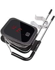 Inkbird Bluetooth Termometro Digitale Barbecue Termometro e Timer con Sonda di Temperatura per Carne Grigliate BBQ Fumatore Forno di Cottura