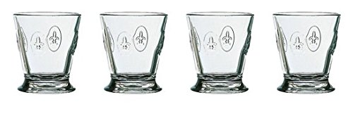 La Rochere Fleur De Lys Tumbler 9-Ounce, Set of 4 by La Rochere