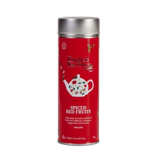 English Tea Shop - Rote Früchte, BIO, 15 Pyramiden-Beutel in Dose