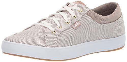Keds Women's Center Sneaker, Walnut Distressed Nautical Stripe, 8 M US - Keds Womens Sneakers