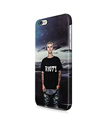 Riot Nature Justin Bieber Plastic Snap-On Case Cover Shell For iPhone 6 Plus / 6s Plus
