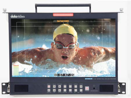 Datavideo TLM-170LM, 17.3 Inch 3G-SDI Full HD LCD Monitor