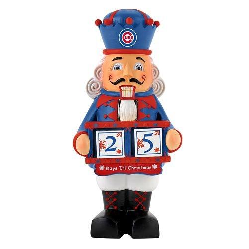 MLB Chicago Cubskohls 2012 Nutcracker Countdown Calendar, Chicago Cubs, One Size - Chicago Cubs Nutcracker