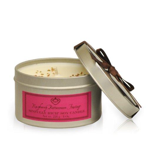 Jaqua Raspberry Buttercream Frosting (Jaqua Beauty Sinfully Rich Raspberry Buttercream Frosting Soy Candle)