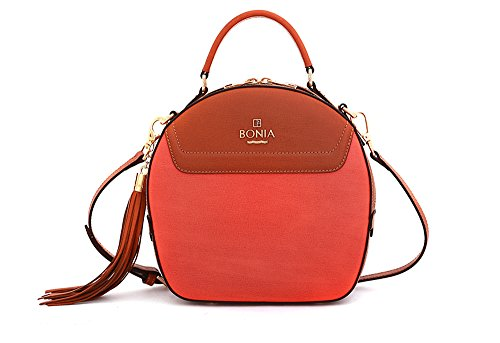 bonia-womens-sophia-leather-sonia-bag-medium-orange