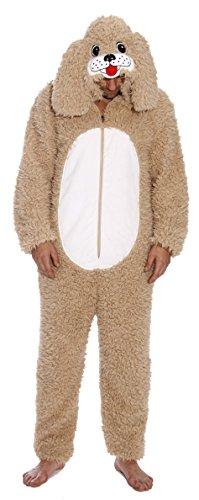 #followme M6421-M-DopeyDog Adult Onesie/Men's Pajamas]()
