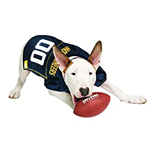 Pets First Collegiate West Virginia University Dog Mesh Jersey, Large