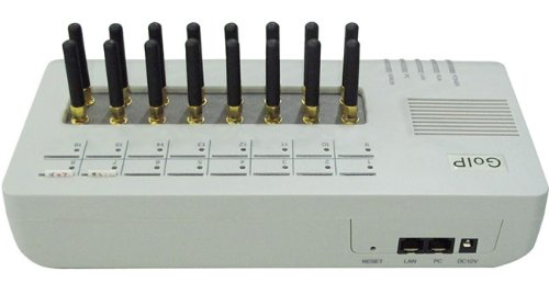 Anysun Goip-16 Gsm Voip Gateway w/ External Antenna 16 GSM Channels up to 16 SIM Cards by GOIP