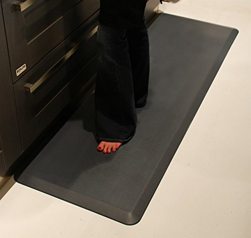 WellnessMats Original Anti-Fatigue 72 Inch by 24 Inch Kitchen Mat, Grey by WellnessMats