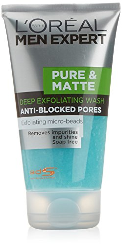 L'Oréal Paris Men Expert Pure & Matte Deep Exfoliating Gel Wash (Deep Exfoliating Gel Wash)