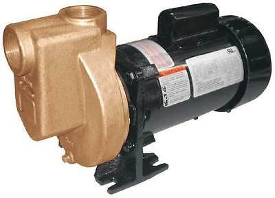 DAYTON 5WXU7 Pump, Centrifugal, Bronze, 1/2HP, 1 PH by Dayton