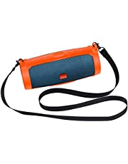 Lyperkin Case for JBL Charge 4 Speaker Silicone Portable Mountaineering Wireless Bluetooth Speaker with Carabiner and Strap [Easy Carry] (Multiciolor)