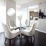 Better crafts Round Mirror Tiles for Glass Mirror