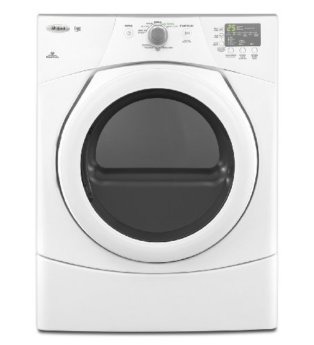 Whirlpool WGD9151YW Duet 6.7 Cu. Ft. White Stackable Gas Front Load Dryer Best Price