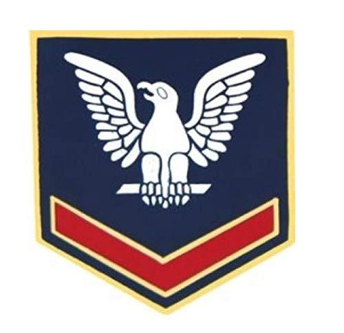 (HMC Navy Petty Officer Third Class (PO3/E-4) Sleeve Rank Insignia Pin - 14396 (7/8 inch))