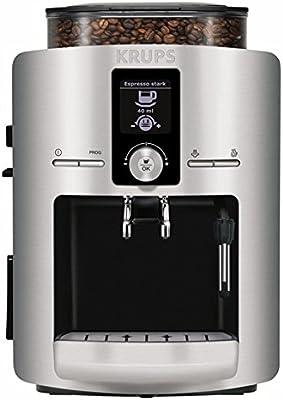 Krups EA8260, Plata/Negro - Máquina de café: Amazon.es: Hogar