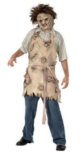 Rubie's Costume Texas Chainsaw Massacre Deluxe Apron Of Souls, Brown, One Size (Mad Scientist Deluxe Adult Costume)