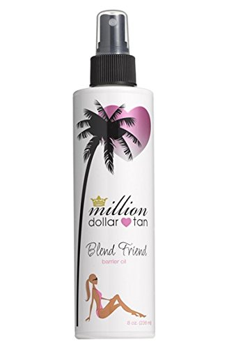Million Dollar Tan's Blend Friend Barrier Oil 8oz Bottle