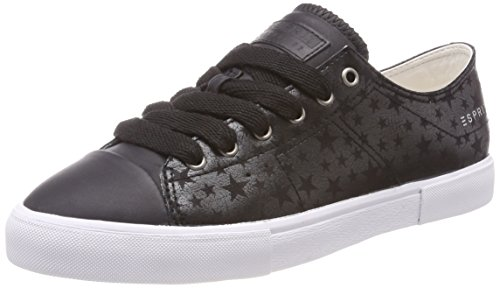 Sneakers Low Women's Top ESPRIT up Black Sonetta Lace BwfI7ICnqY