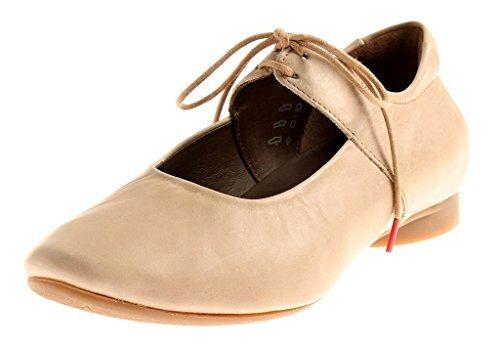 Think Guad 82285-61 Damen Slipper, Ballerinas Beige