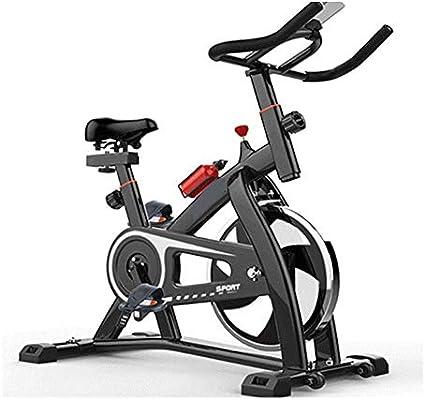 Bangxiu Bicicleta estática de Fitness Spinning Bike Home Ultra ...