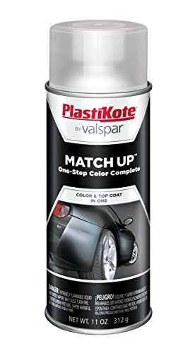 (PlastiKote 1001 Universal Black Automotive Touch-Up Paint - 11 oz.)