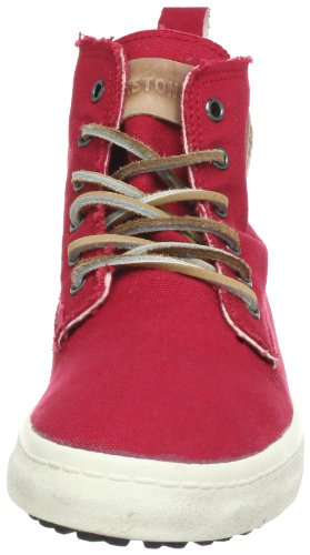 Blackstone CANVAS FL86 Damen Sneaker Rot (Persian Red)