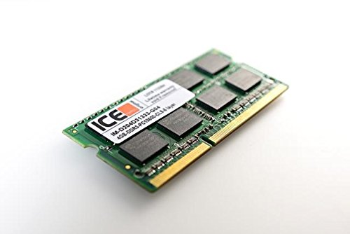 (ICEmemory SDRAM - 133 PC SODIMM Laptop Memory - 256 MB-Certified for Apple-Black)