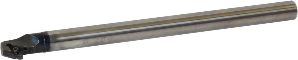 Kyocera E25T-SDQCL11-30A Carbide Boring Bar 1.1811in Minimum Bore Diameter 11.811in OAL S-SDQC-A Toolholder Style Left Hand Screw Holding 17.50 Degrees Lead Angle