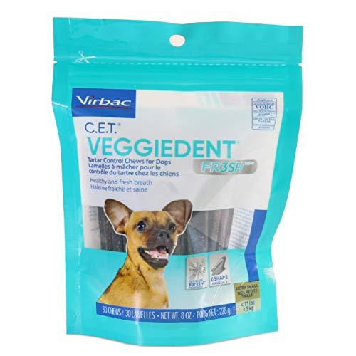 Virbac C.E.T. VeggieDent Dental Chews