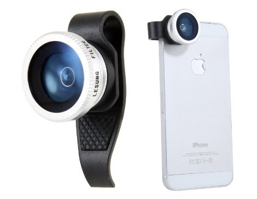 on sale 2a9f6 4e8b2 Amazon.com: Lesung Clip External Cell Phone Camera for iPhone 4 & 4S ...