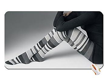 Las mujeres calcetines Overknee calcetines gran alfombrilla de ratón Dimensiones: 60 x 35 x 0,2 cm): Amazon.es: Oficina y papelería