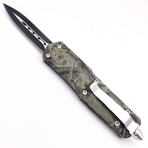 NNK NK Green EDC Folding Knife Action Safety Knife Tactical