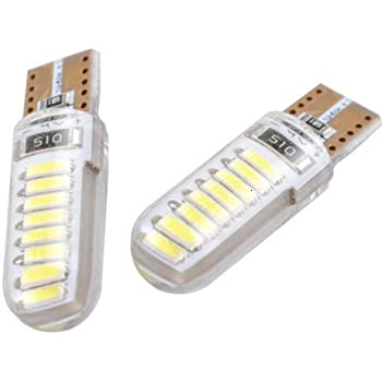 Trust 10 Pack White 16smd7020 Led Canbus Bulbs For Malibu