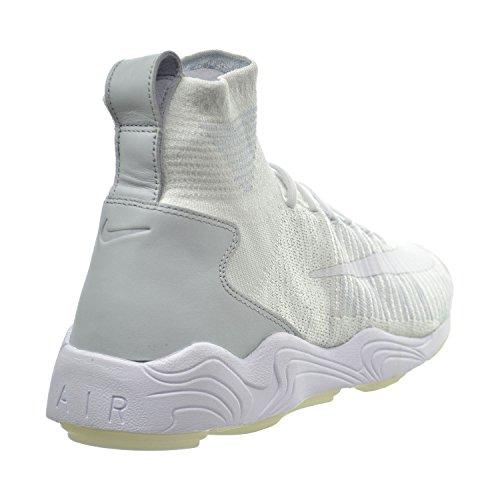 Nike Zoom Mercurial Flyknit Mens Shoes White/Wolf Grey/Pure Platinum 844626-100 U4uBBYbn