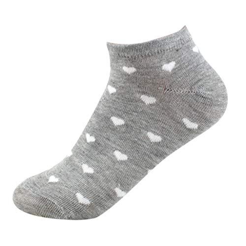 HHei_K Hot Selling!! Women Socks Fashion Short Socks Dot for Female Low Sweet Sports Socks Boat Socks