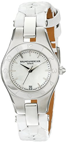 Baume & Mercier Women's BMMOA10117 Linea Analog Display Quartz White Watch