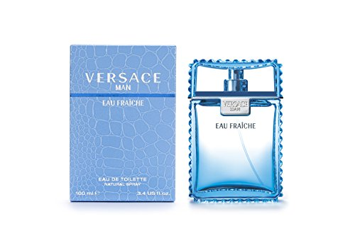 Versace Man Eau Fraiche By Gianni Versace For Men Edt Spray 3.4 Fl Oz from Versace