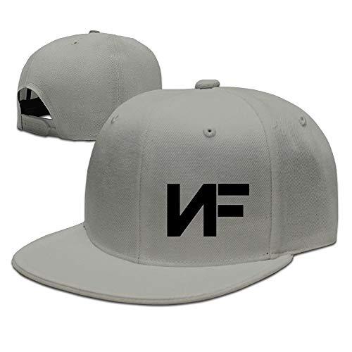 NKLJHIWO Unisex Adjustable Hat Flat-Brim Baseball Cap Dad Hat Baseball Hat  - NF 00c89e0f556