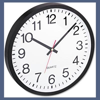 (Universal UNV10431 Round Wall Clock 11-1/2