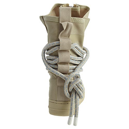 Nike SF Air Force High Top Womens Boots Rattan/Rattan/White aa3965-200 (6.5 B(M) US) by NIKE (Image #3)