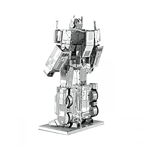 Fascinations Metal Earth Optimus Prime Transformers Puzzle In Metallo 3d Colore Mms300c2