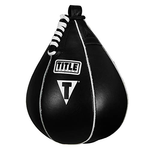 "Title Boxing Super Speed Bag, Black, 7"" x 10"""