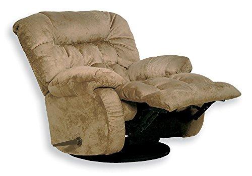 Catnapper 45175222029 Teddy Bear Saddle Chaise Swivel Glider Recliner
