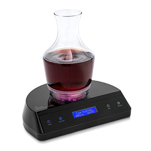 HUMBEE Chef My Sommelier Electric Wine Aerating Decanter, Black by HUMBEE Chef