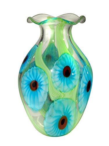 Dale Tiffany AV13354 Cape Caribe Vase