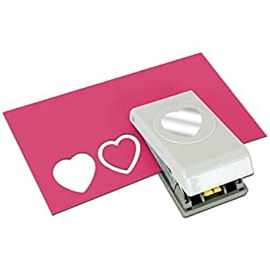 EK Tools 54-90013  Heart Layering Paper Punch, Punches 1.50-Inch